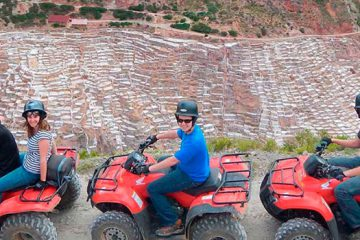 Tour in ATVs by Maras, Moray, Tiobamba and Chinchero